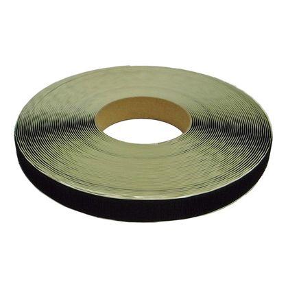 粘着付マジックテープ A面フック (PN) 黒 25mm巾X25m