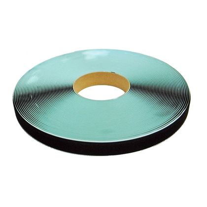 粘着付マジックテープ B面ループ(PN) 黒 25mm巾X25m