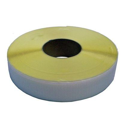 粘着付マジックテープ A面フック (PN) 白 50mm巾X25m