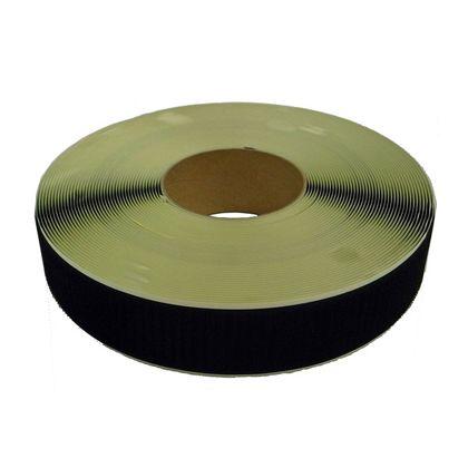 粘着付マジックテープ A面フック (PN) 黒 50mm巾X25m