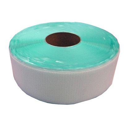 粘着付マジックテープ B面ループ(PN) 白 100mm巾X25m