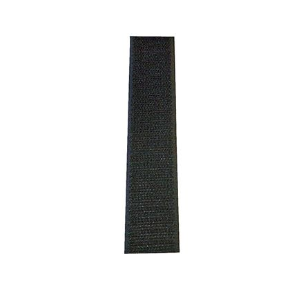 マジックテープ(縫製用)A面フック 黒 25mm巾X25m