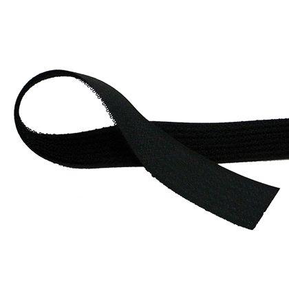 フリーマジックテープ(縫製用) 黒 25mm巾X25m