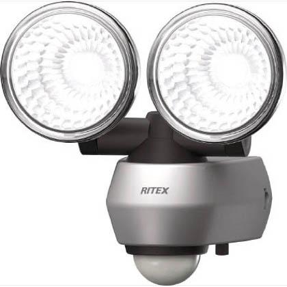 ムサシ 10W×2 LEDセンサーライトLED-AC2020 (LED-AC2020)