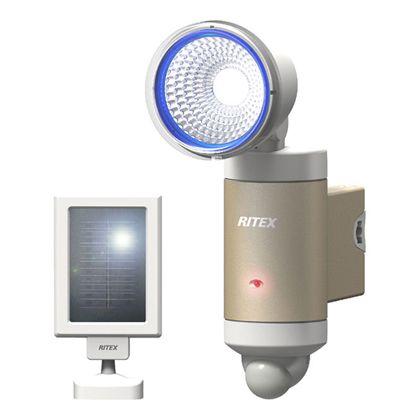 ライテックス 3W 1頭式 LEDソーラーセンサーライト   S-30L