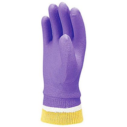 あったかスーパーソフトグローブ防寒手袋 バイオレット M 701