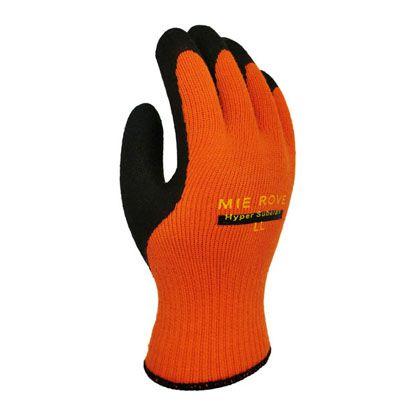 ハイパースベラン手袋 オレンジ+ブラック LL 720