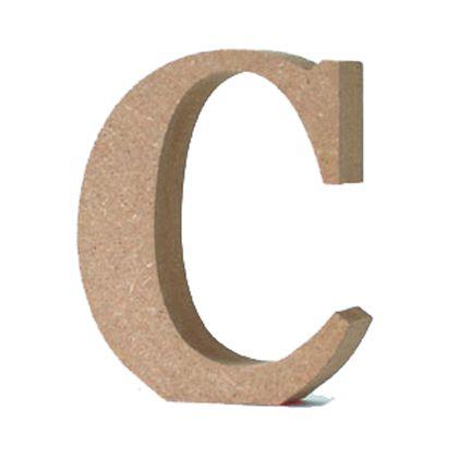 アルファベットレター 大文字 C  約90×90×20mm EE1-5052