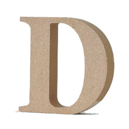 アルファベットレター 大文字 D  約90×90×20mm EE1-5053
