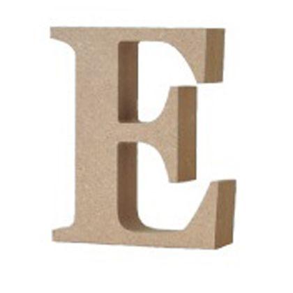 アルファベットレター 大文字 E  約90×90×20mm EE1-5054
