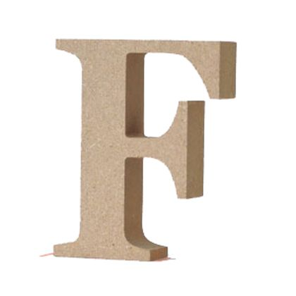アルファベットレター 大文字 F  約90×90×20mm EE1-5055