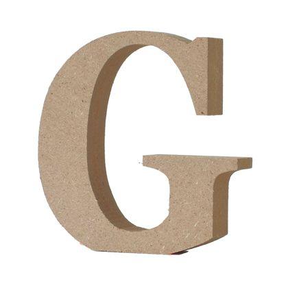 アルファベットレター 大文字 G  約90×90×20mm EE1-5056