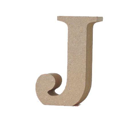 アルファベットレター 大文字 J  約90×50×20mm EE1-5059