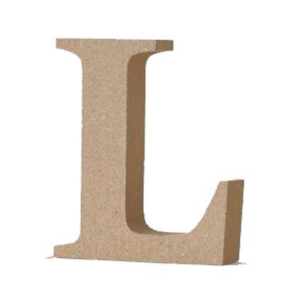 アルファベットレター 大文字 L  約90×90×20mm EE1-5061