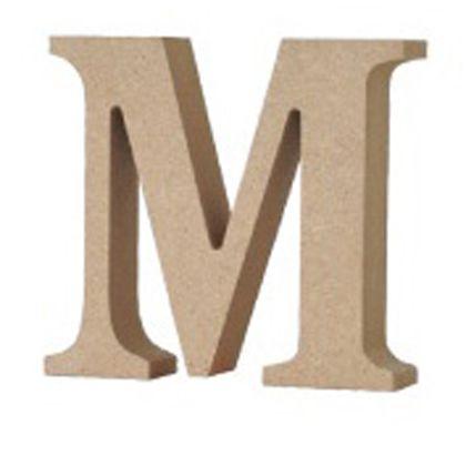 アルファベットレター 大文字 M  約90×90×20mm EE1-5062