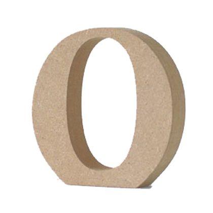 アルファベットレター 大文字 O  約90×90×20mm EE1-5064