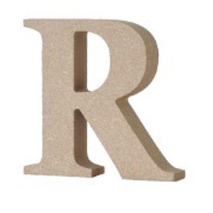 アルファベットレター 大文字 R  約90×90×20mm EE1-5067