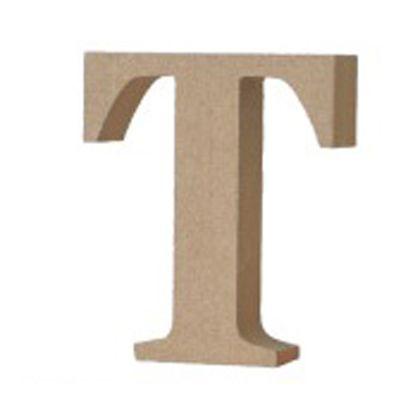 アルファベットレター 大文字 T  約90×90×20mm EE1-5069