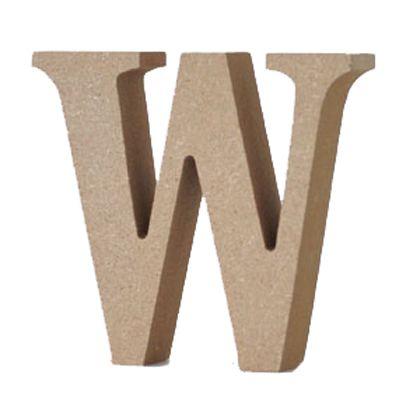 アルファベットレター 大文字 W  約90×90×20mm EE1-5072