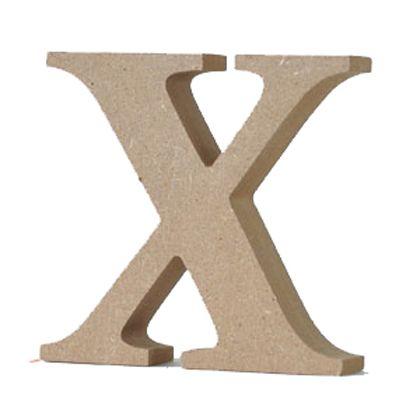 アルファベットレター 大文字 X  約90×90×20mm EE1-5073