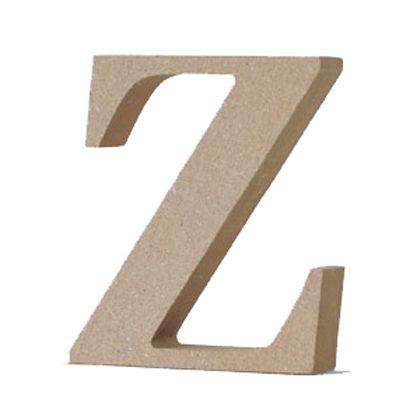 アルファベットレター 大文字 Z  約90×90×20mm EE1-5075