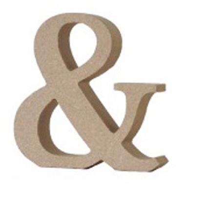 アルファベットレター 記号 &  約90×90×20mm EE1-5076