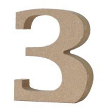アルファベットレター数字3  約20×75×90mm EE1-5079