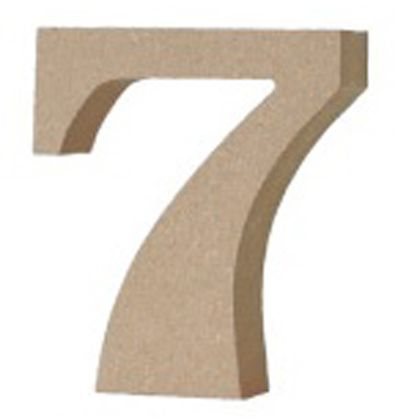 アルファベットレター数字7  約20×80×90mm EE1-5083