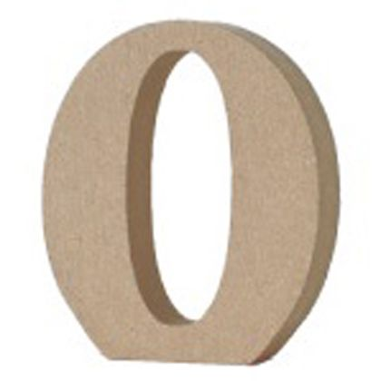 アルファベットレター 数字 0  約20×80×90mm EE1-5086