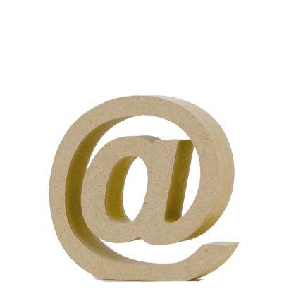 アルファベットレター 記号 @  約90×95×20mm EE1-5127