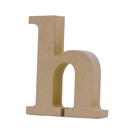 アルファベットレター 小文字h  約70×87×20mm EE1-5107
