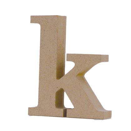 アルファベットレター 小文字k  約71×88×20mm EE1-5110