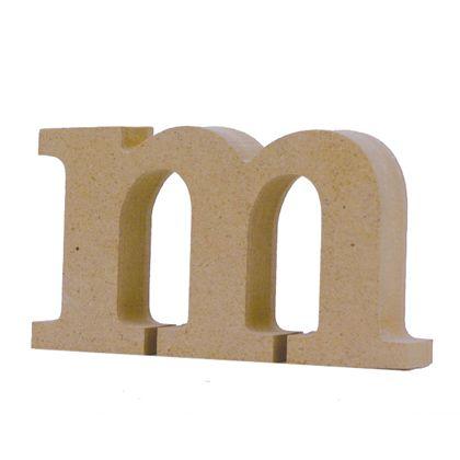 アルファベットレター 小文字m  約56×100×20mm EE1-5112