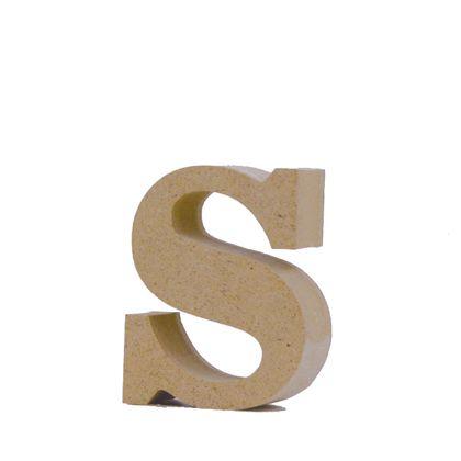アルファベットレター 小文字s  約48×60×20mm EE1-5118