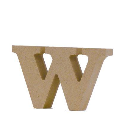 アルファベットレター 小文字w 約56×92×20mm (EE1-5122)