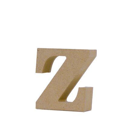 アルファベットレター 小文字z  約50×55×20mm EE1-5125