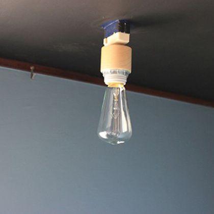 ジェネラル 1灯用スポット シーリングソケット ナチュラル (002418)