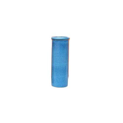エントツ陶製傘立て ブルー 直径23h60cm 002752