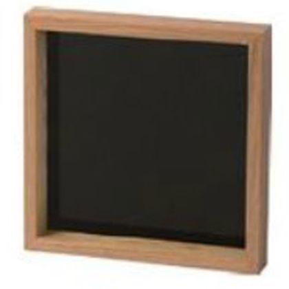メルクロス ジェネラル ウッドフレーム ブラック 50×50(cm) 002907