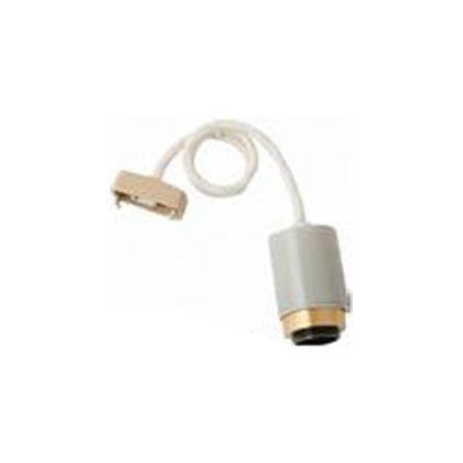 ジェネラル 1灯用ソケット 磁器 グレー コード長:50cm 2939