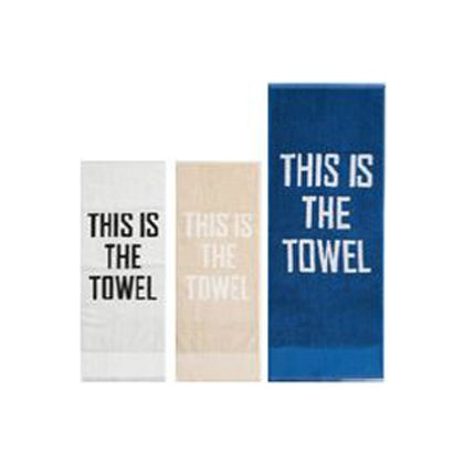 THIS IS THE TOWEL(タオル) ホワイト 34×85cm 1209