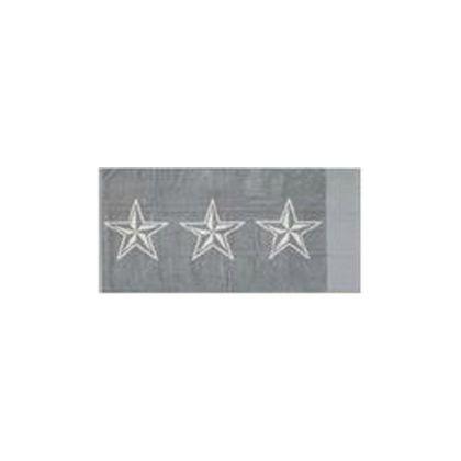 STAR TOWEL(星柄タオル) グレー 70×140cm 1205