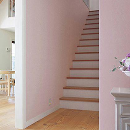 はがせる壁紙RILM 布地系無地 ピンク 幅:46cm長さ:12m rilm-wall-12m-002