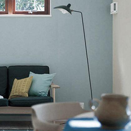 はがせる壁紙RILM 布地系無地 パウダーブルー 幅:46cm長さ:12m rilm-wall-12m-032