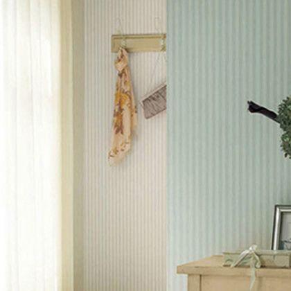 はがせる壁紙RILM フェミニンストライプ アプリコット 幅:46cm長さ:2.5m rilm-wall-02m-612