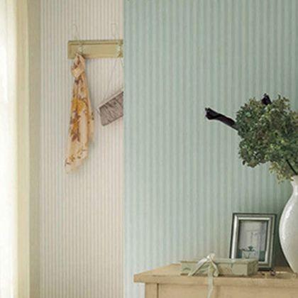 はがせる壁紙RILM フェミニンストライプ ブルー 幅:46cm長さ:12m rilm-wall-12m-613