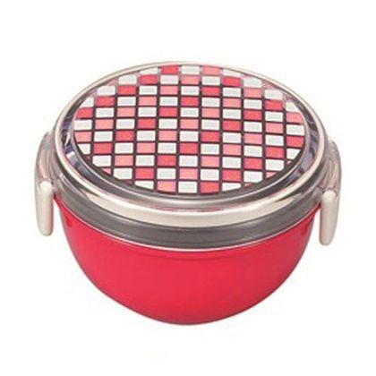 お弁当箱 パレット ランチボウル どんぶり型 レッド  241720