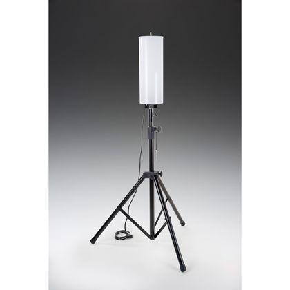 LEDバルーンライト 三脚つき  全高2.1-1.5mバルーンφ250mm×500mm三脚開脚寸法最大φ1200mm MPL-FLB-80