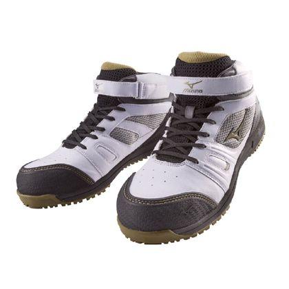 作業用靴 ALMIGHTY MT ホワイト×ゴールド×ブラック 26.5cm C1GA160201265