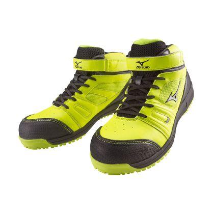 作業用靴 ALMIGHTY MT イエロー×シルバー×ブラック 27.0cm C1GA160245270